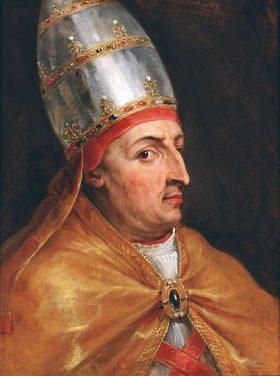 Pope Nicholas V, by Peter Paul Reubens, 1612-1616