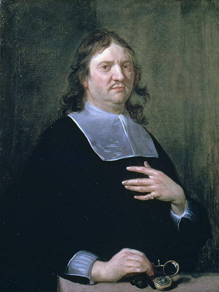 Publishing pioneer: Henry Oldenburg by Jan van Cleve, 1668.
