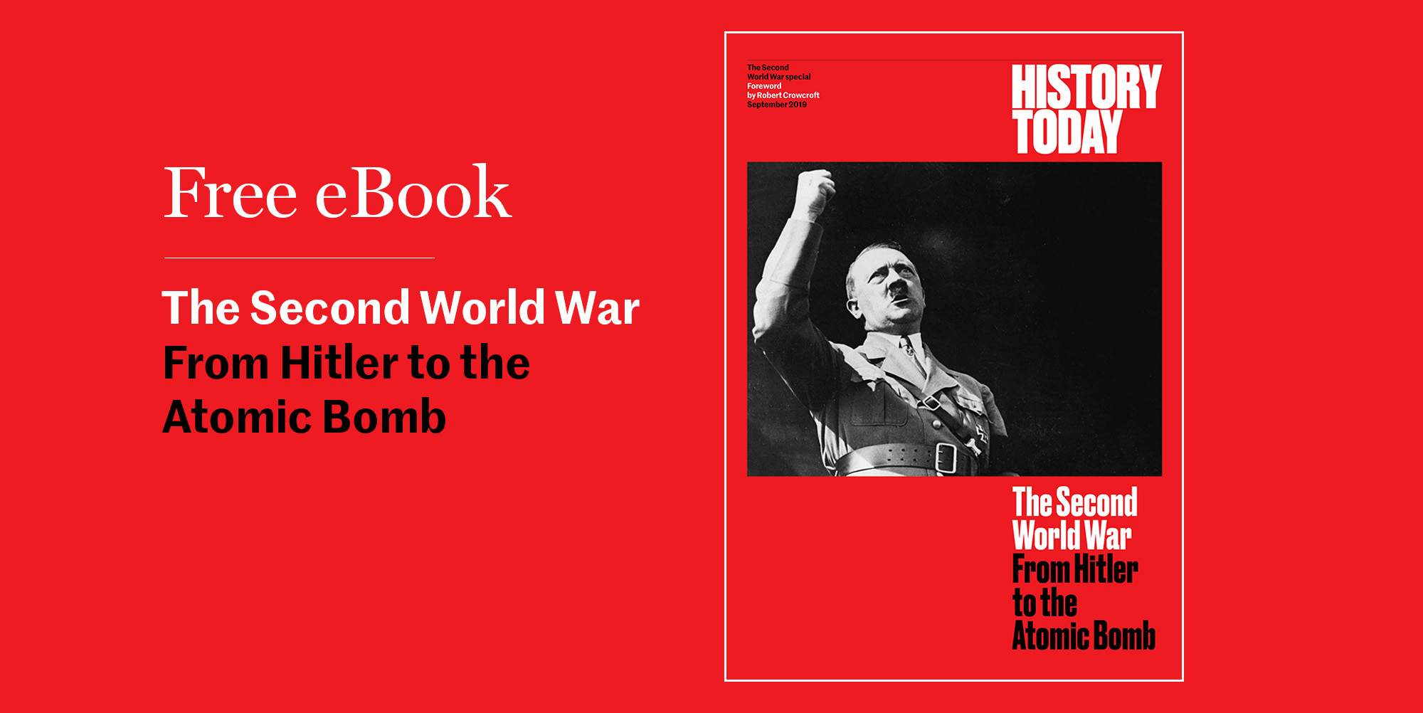 Get our free ebook on the Second World War