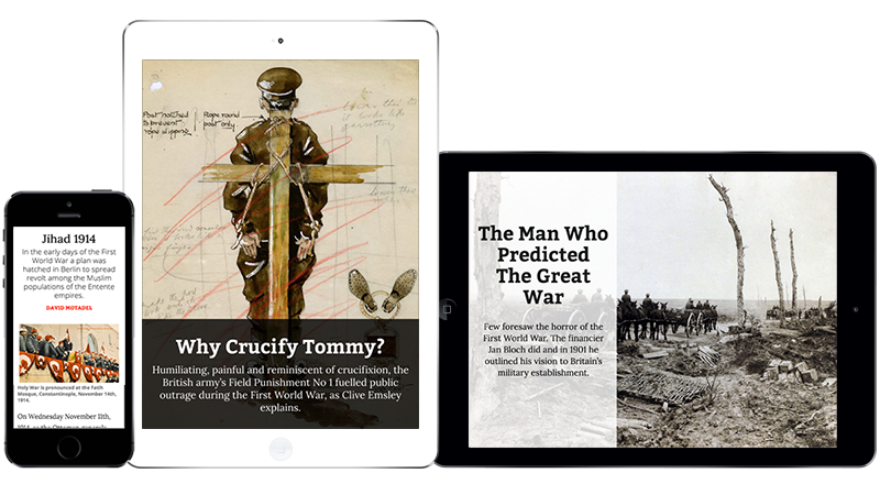 Special Issue: The First World War