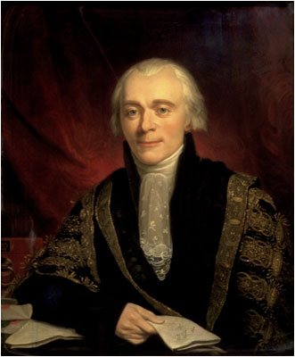 Portrait of Spencer Perceval in 1816 by George Francis Joseph