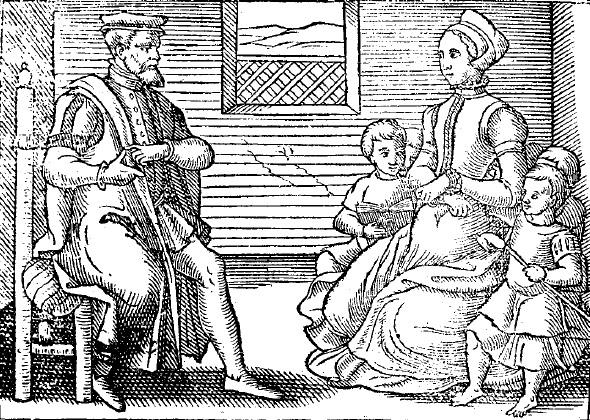 A sixteenth-century Puritan family
