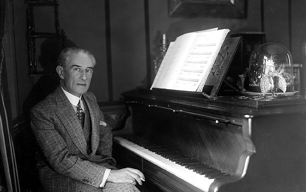 Maurice Ravel in the 1930s.
