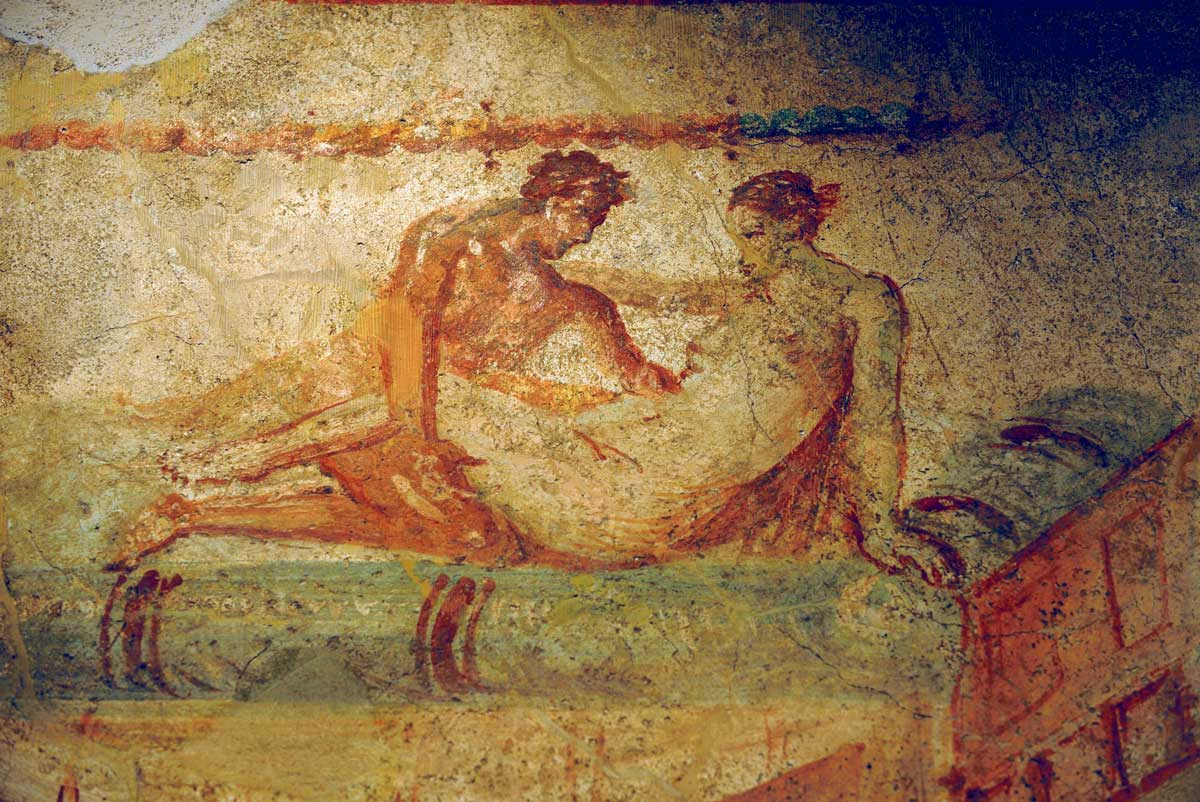 The brothels of ancient Pompeii
