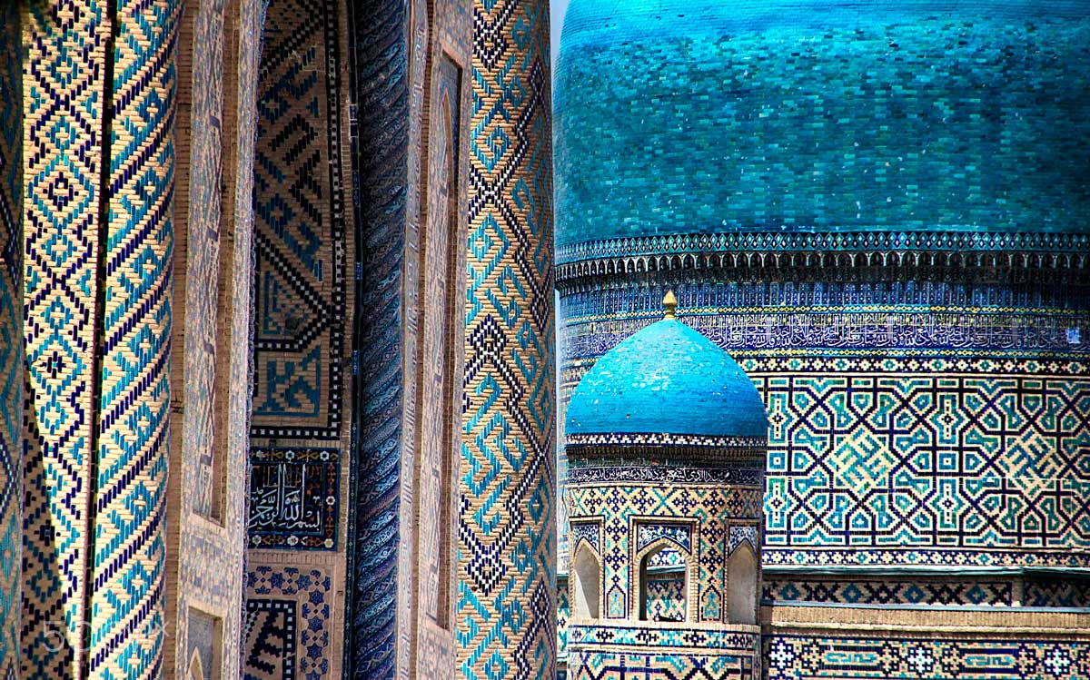 The blues of Samarkand. Photo: Angshuman Chatterjee