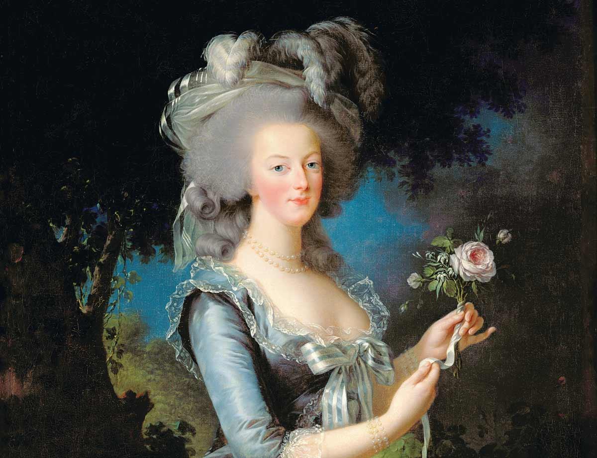 Marie-Antoinette, by Elisabeth Vigée Le Brun, 1783 © Bridgeman Images.