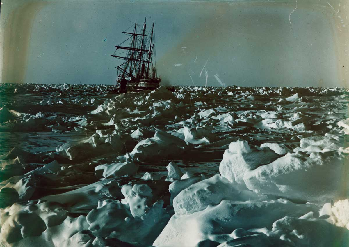 Hostile environment: 'Furthest South', September 1915 by Frank Hurley © Royal Geographical Society/Getty Images