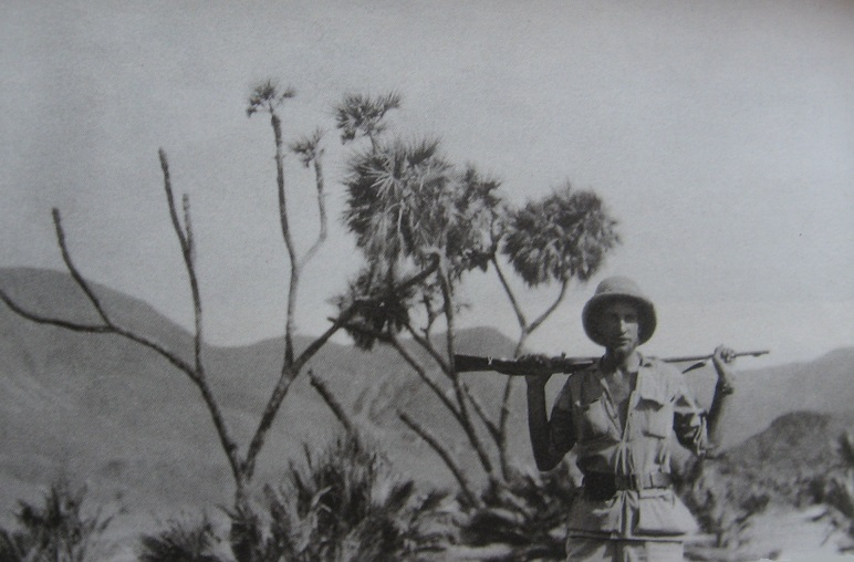 Wilfred Thesiger in the Horn of Africa in 1934