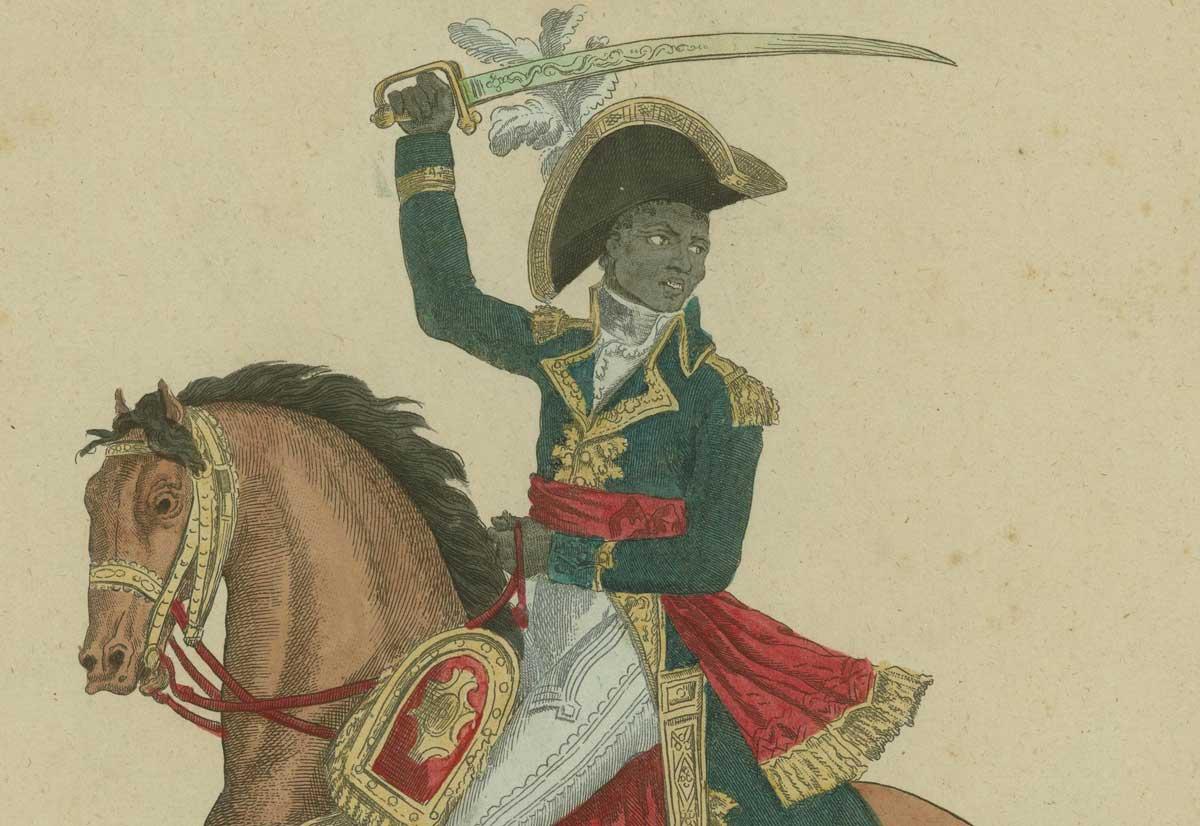 Toussaint L'Ouverture, c.1800. John Carter Brown Library.