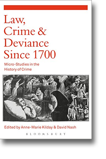 Front cover of the book Law, Crime & Deviance Since 1700