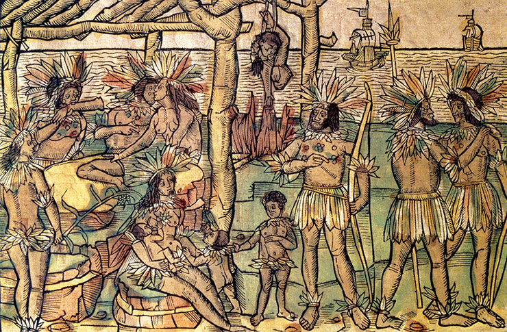 the effect of cannibalism in colonial brazil The history of brazil starts with indigenous people in brazileuropeans arrived in brazil at the opening of the 16th century the first european to colonize what is now the federative republic of brazil on the continent of south america was pedro álvares cabral (c1467/1468-c1520) on april 22, 1500 under the sponsorship of the kingdom of portugal.