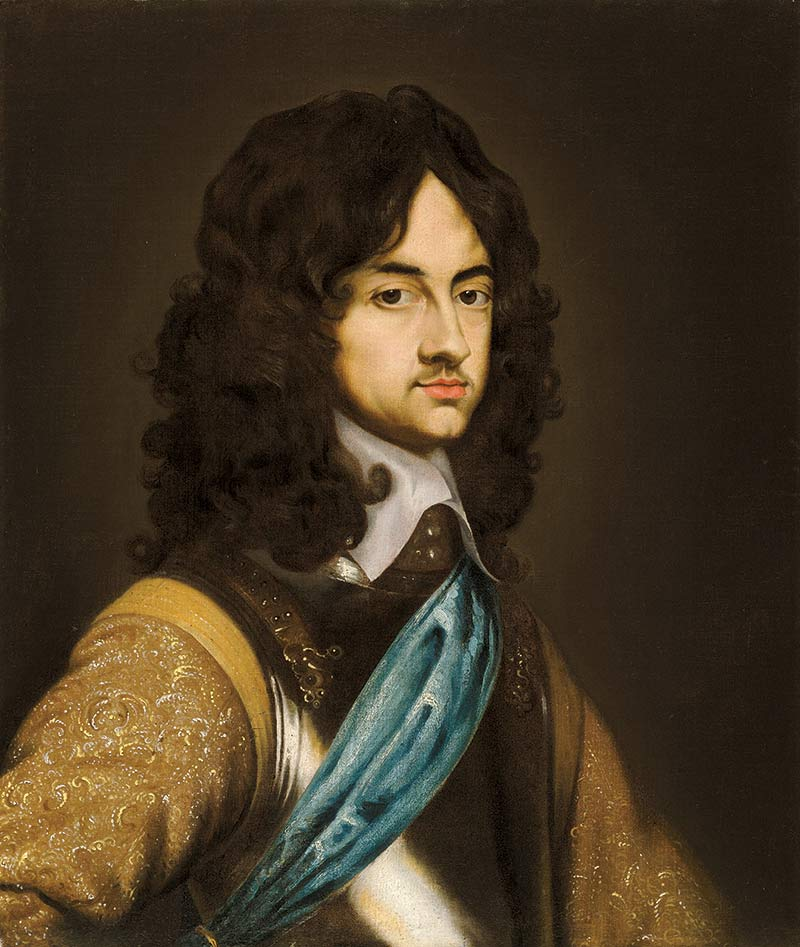 Charles II in about 1650, by Adriaen Hanneman (or his studio).
