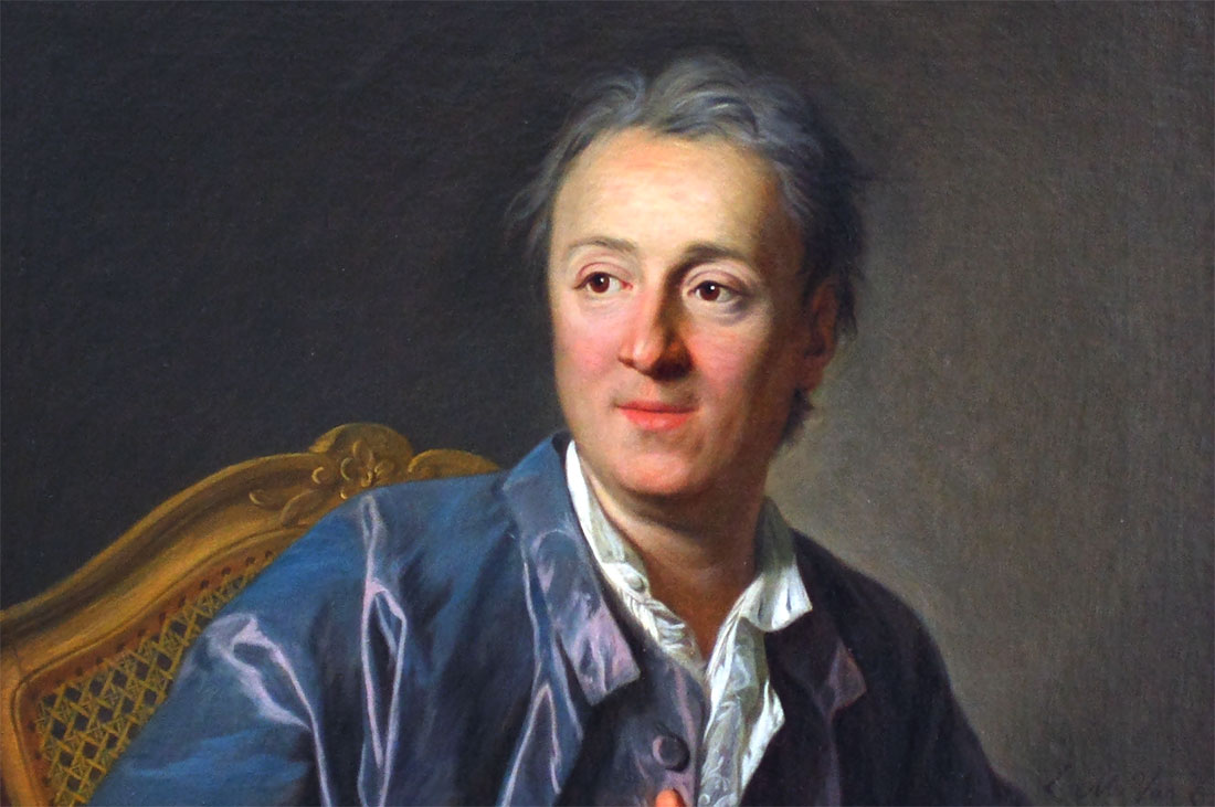 Denis Diderot, by Louis-Michel van Loo, 1767.
