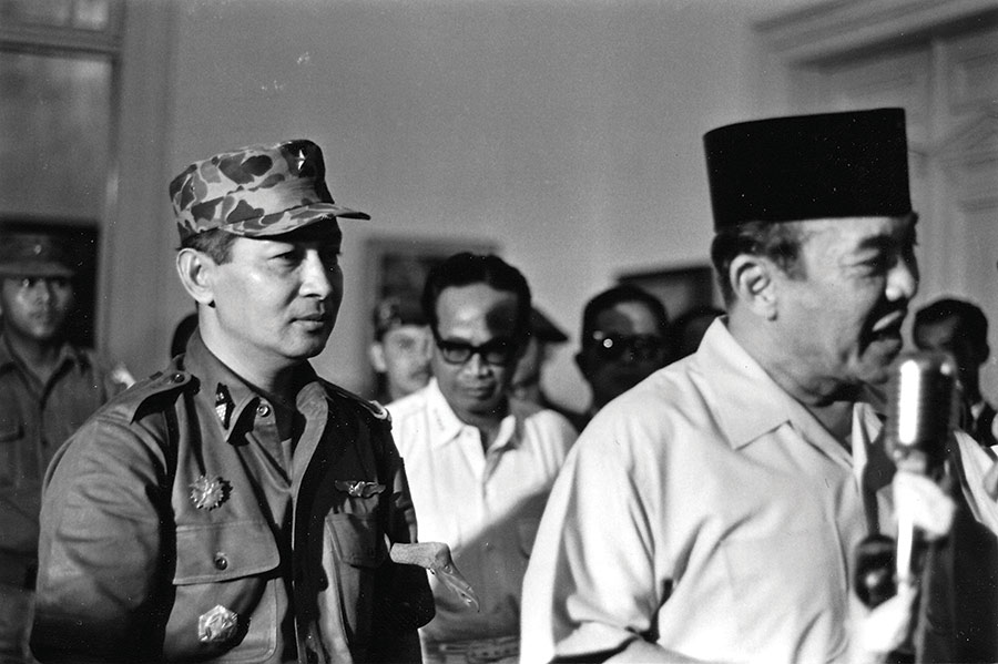 President Sukarno authorising Major General Suharto to restore public order, 11 March 1966,
