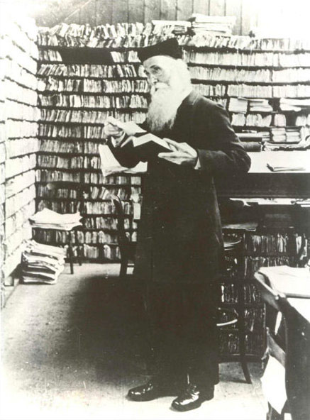 James Murray in the Scriptorium.