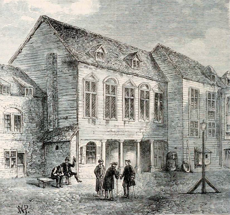 Marshalsea prison, Southwark, London, 18th century