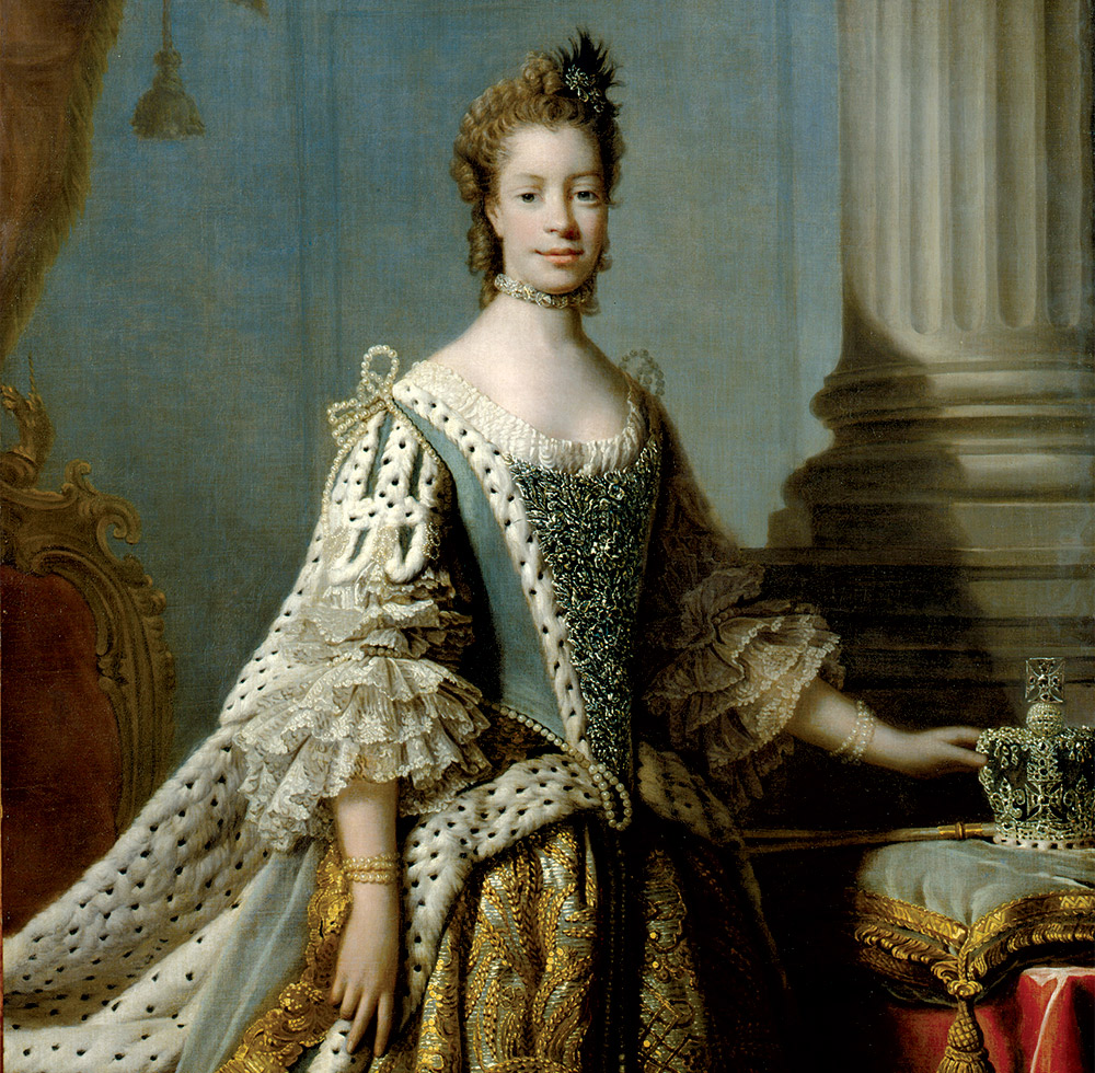 Queen Charlotte by Allan Ramsay.