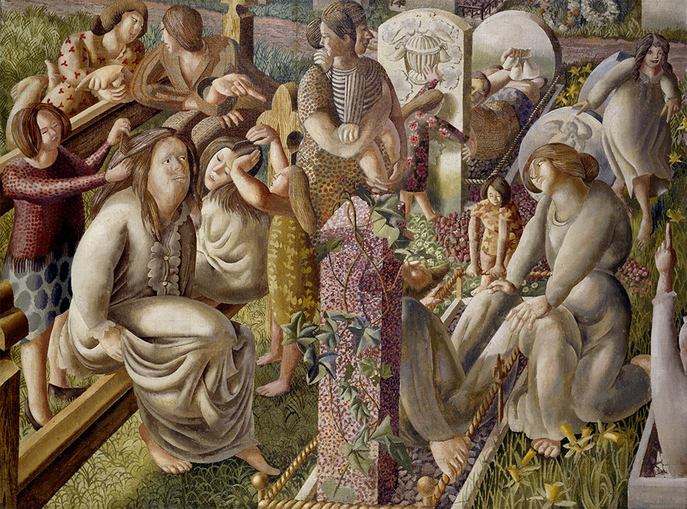 Stanley Spencer, The Resurrection: Tidying, 1945.