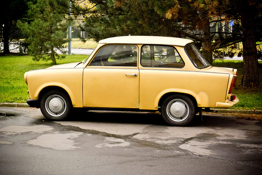 East German Trabant 601 Limousine.