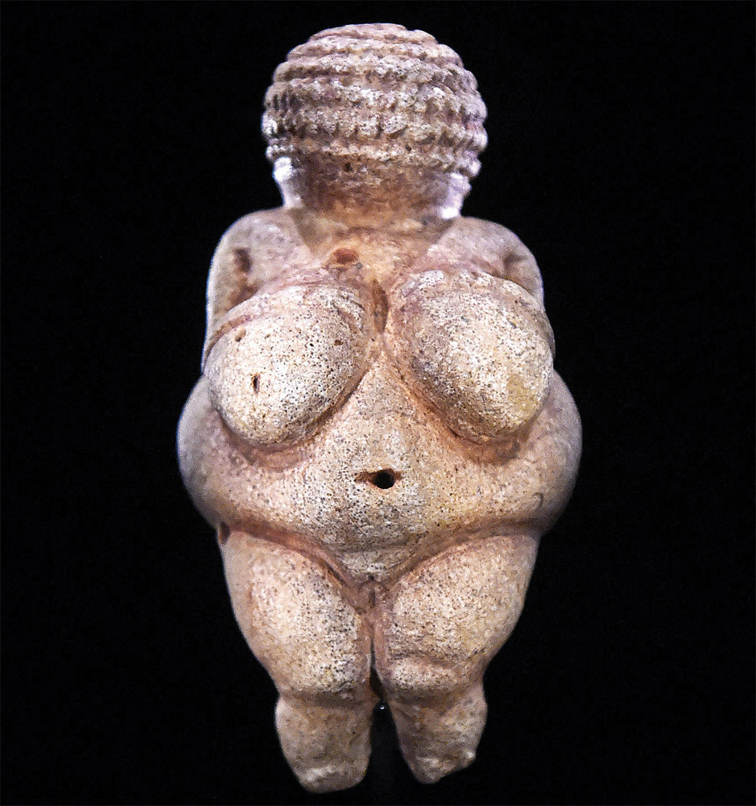 Voluptuous: the Venus of Willendorf, c.28,000-25,000 BC.