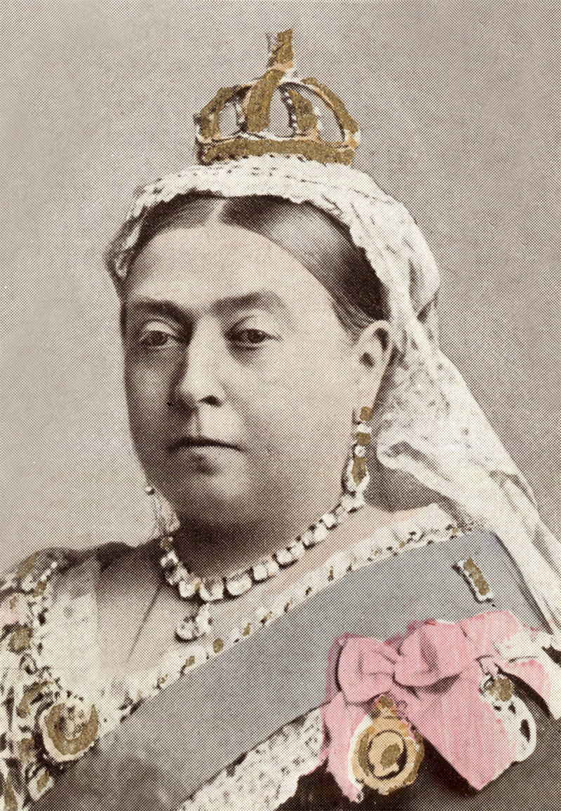 Queen Victoria in 1887, by Alexander Bassano.