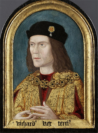 The earliest surviving portrait of Richard (c. 1520, after a lost original). Society of Antiquaries
