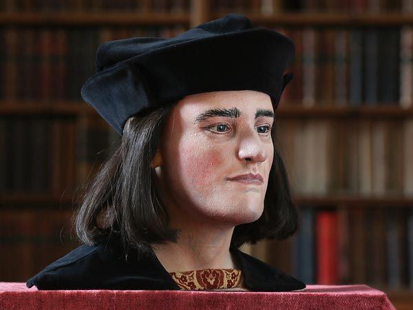 Face of a tyrant? The reconstructed head of Richard III