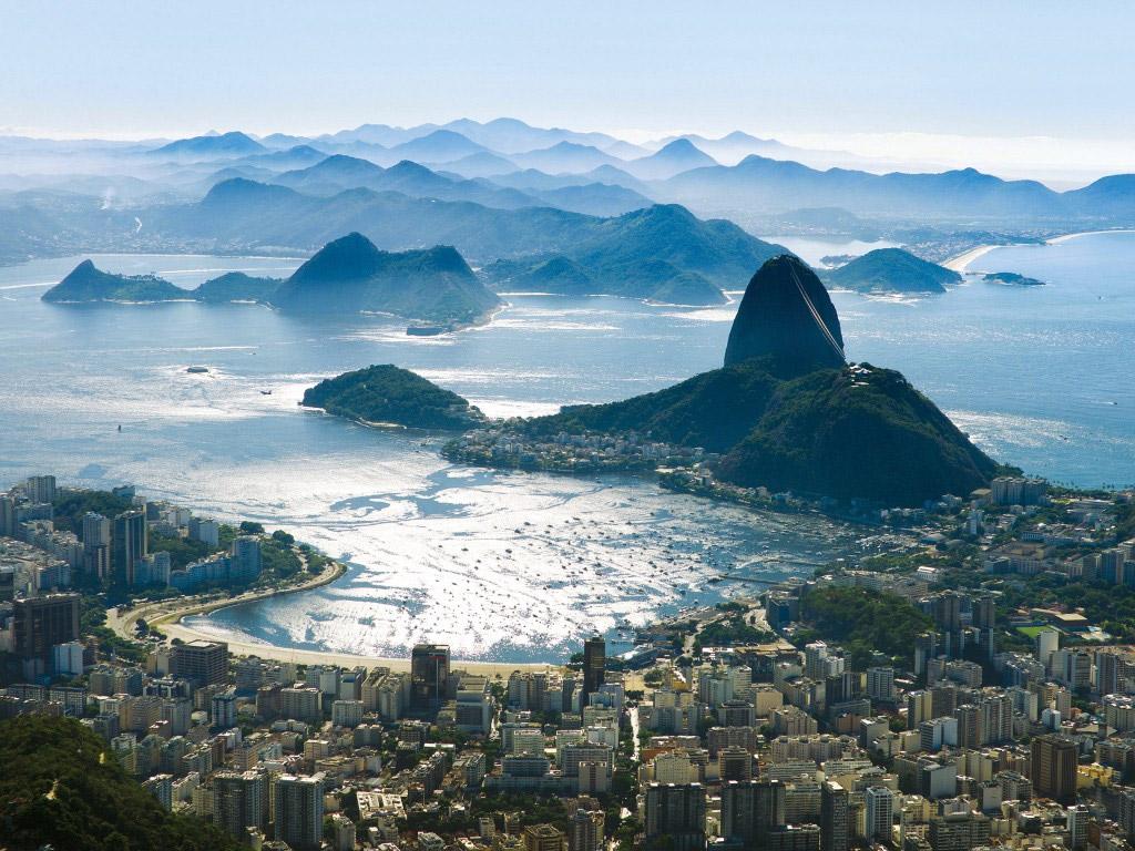 Rio de Janeiro and Botafogo Bay.