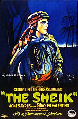 Poster for 'The Sheik'