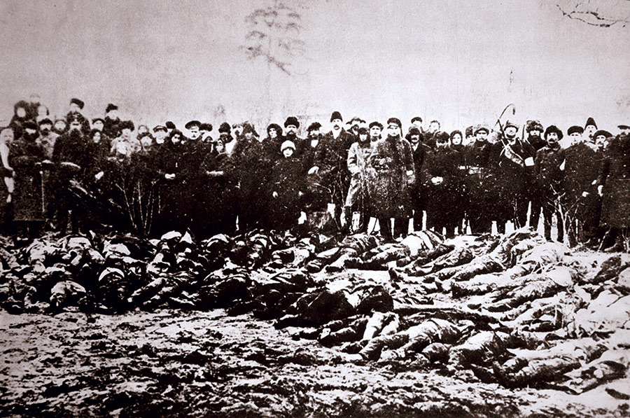 Casualties of the Red  and White armies in Siberia during the Russian Civil War, 1917-22.