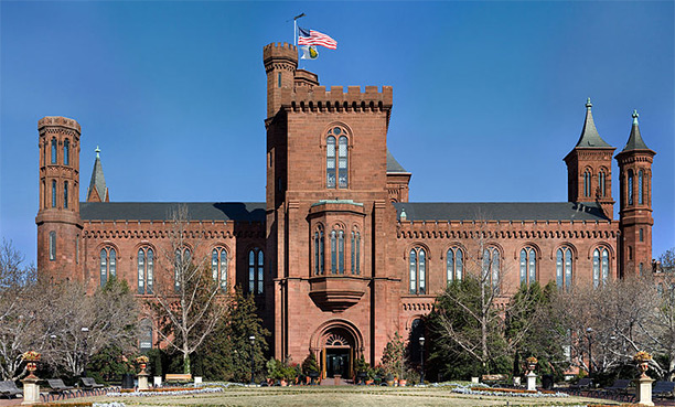 'The Castle', the Smithsonian Institution's headquarters and first building