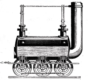 Getting up steam: Stephenson's 'Blucher', 1814