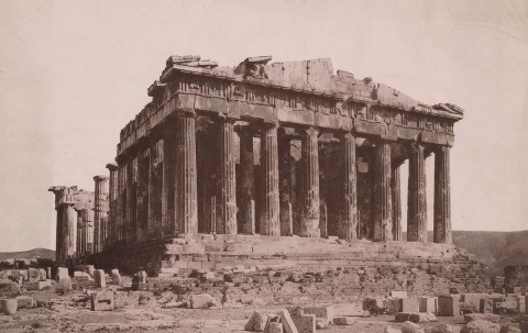 The Parthenon is Blown Up
