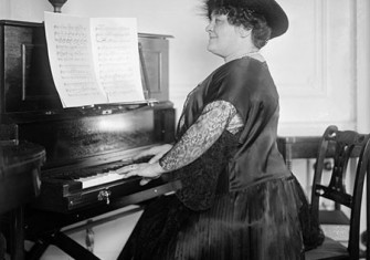 Luisa Tetrazzini, c.1920. © Hulton/Getty Images.