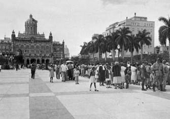 The Presidential Palace on Havana's Plaza 13 de Marzo in the 1950s. In 1974, it became the Museum of the Revolution © AFP/Getty Images.