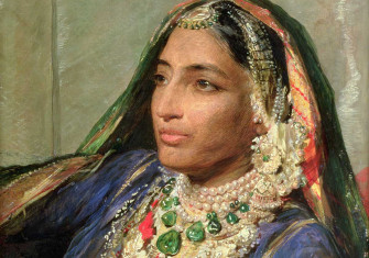 Maharani Jind Kaur, by George Richmond, 19th century © Christie's/Bridgeman Images.
