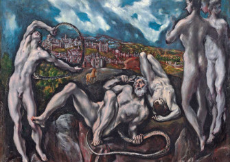 Laocoön, by El Greco, c.1610, National Gallery  of Art, Washington © Bridgeman Images.