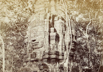 Bayon Temple, 1866, by John Thomson.