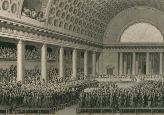 National Assembly at Versailles, 17 June 1789.