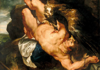 Prometheus Bound, by Peter Paul Rubens, 1611-12, Philadelphia Museum of Art.