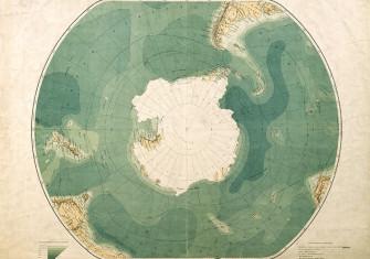 South Polar Chart, 1901.