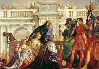 The Family of Darius before Alexander, by Paolo Veronese, c.1565-67, National Gallery, London © Bridgeman Images.