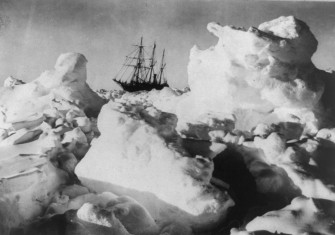 Shackleton's expedition to the Antarctic, c. 1916. Library of Congress.