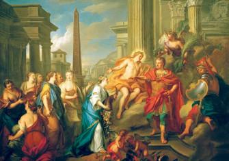 Augustus Closing the Temple  of Janus, by Louis de Silvestre, 1757, Gemäldegalerie, Dresden © akg-images