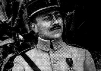 Marc Bloch serving  with the 72nd Infantry Regiment, c.1918 © Bridgeman Images.