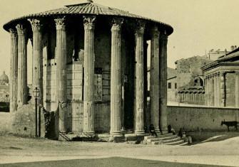 Temple of Vesta, Rome. c. 1914