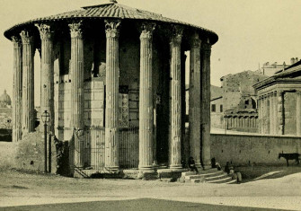 Temple of Vesta, Rome. c. 1914
