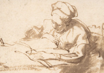Woman Reading 1606–69, Rembrandt. Metropolitan Museum of Art.
