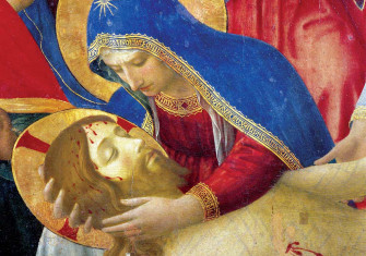 Fra Angelico's Deposition  from the Cross (detail), 1436 © Bridgeman Images.