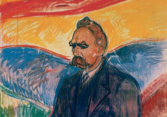 Friedrich Nietzsche, by Edvard Munch, c.1906. © Munch Museet, Oslo, Norway/Bridgeman Images